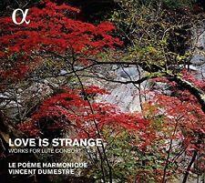 Le Poeme Harmonique - Love Is Strange - Works for Lute Consort [New CD]