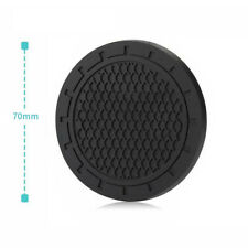 2x Car Coasters Silicone Compound Material Adsorption Non-Slip  Well Toughness