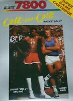 One on One Basketball (Atari 7800, 1987) Brand New
