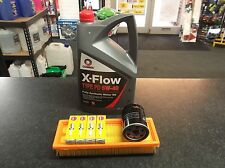 SERVICE KIT FIAT GRANDE PUNTO (199) OIL & AIR FILTERS SPARK PLUGS 5 LITRES XFLOW