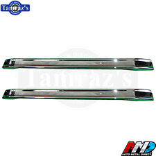 66-77 for Ford Bronco Front AND Rear Bumper OE Quality Chrome - AMD Tooling