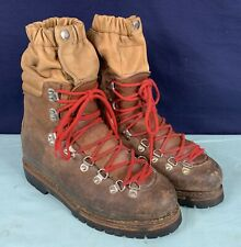 Vintage TRAPPEUR  Hiking Mountaineering Boots size 10, Full Shank