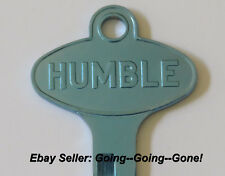 VINTAGE HUMBLE OIL CO KEY BLANK FORD LINCOLN MERCURY EDSEL 1958-1966 1127DU BLUE