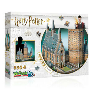 Puzzle 3D Wrebbit  Harry Potter la grande salle 850 pieces,idée cadeau