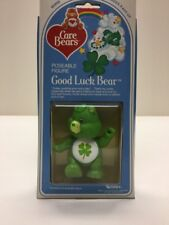Good Luck Bear, Care Bears Vintage Poseable Figure, Mint In Box By Kenner