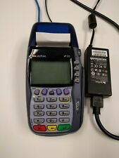 Used Verifone VX570 credit card terminal tested and power cord (bin63)