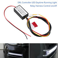 Car Led Daytime Running Lights Relay Harness DRL Control ON OFF Automatic Dimmer