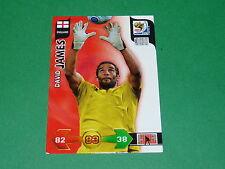JAMES ENGLAND  PANINI FOOTBALL FIFA WORLD CUP 2010 CARD ADRENALYN XL