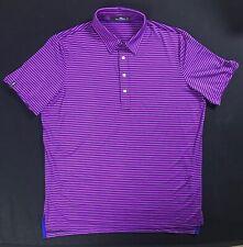 RLX Ralph Lauren striped polo shirt Wicking mens size XL
