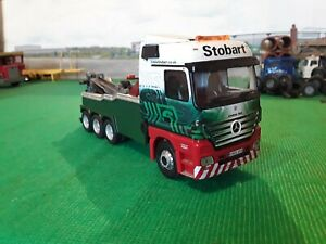 Code 3 recovery truck stobart livery