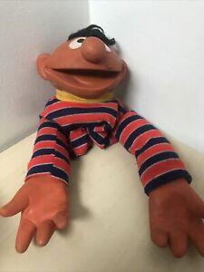 Vintage Sesame Street Muppets Ernie Hand Puppet, 1970's (f16)