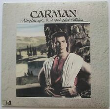 Carman A Long Time Ago In A Land Called Bethlehem LP, good condtion