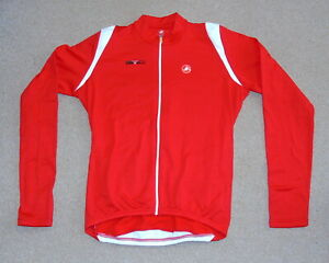 """NEW WITH DEFECT CASTELLI LONG SLEEVE JERSEY. XL 44"""" CIRCUMFERENCE"""