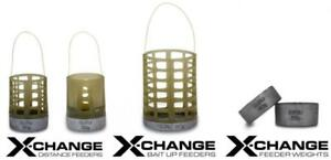 GURU - X-CHANGE DISTANCE FEEDERS - CAGE OR OPEN END - FULL RANGE AVAILABLE