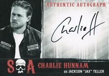 """Sons of Anarchy Seasons 6&7, Charlie Hunnam 'Jackson """"Jax"""" Teller' Auto Card CH"""