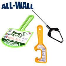 Drywall Mini Mud Pan Mixer Blade with Mud Scoop and 5-Gallon Bucket Lid Opener