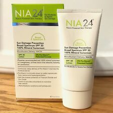 NIA 24 Sun Damage Prevention Sunscreen SP 30 - 2.5 oz / 75ml  E17