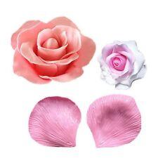 Rose Blütenblätter Fondant Mold Silikon Cupcake Dekor Kuchen Schimmel