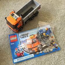 Lego City: 4434 Dump Truck Tipper Road Construction Lot 4899