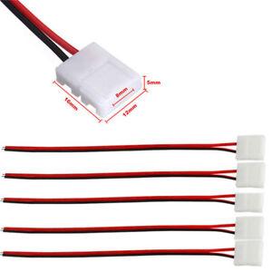 CONNECTEUR POUR RUBAN LED 8mm 3528 LED STRIP CONNECTEUR