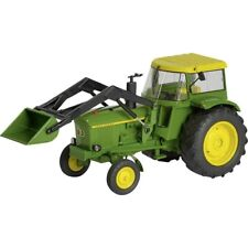 "Schuco 450767800 1 32 Scale ""john Deere 3120"" Model Tractor With Front Loader"