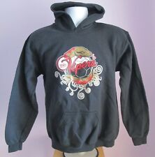 VTG Ladies GILDAN LADY VIPERS Black Hooded Sweatshirt Size L or Youth XL