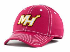 Miami Heat New NBA Adidas Primary Maroon Flex Fit Hat-Large/Xlarge L/XL $26