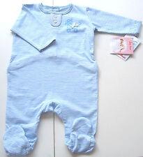 Einteiler Gr.50 Käthe Kruse NEU m.E blau 100% Baumwolle bio Schlafanzug Frühchen