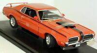 Nex 1/18 Scale 1970 Mercury Cougar Eliminator Orange Diecast model car