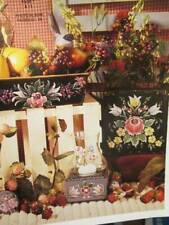 Deck The Halls With Bauernmalerei Painting Book-Sherry Gall-Flowers
