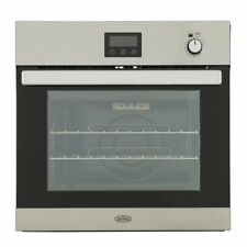 Belling BI602G Built In A Gas Single Oven 60cm Stainless Steel 444444791