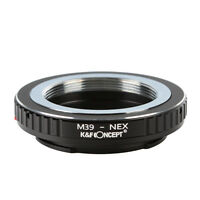 K&F Concept Adapter Ring for Leica M39 Mount Lens to Sony E NEX Mount Camera