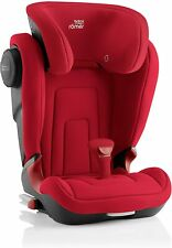 Britax Romer Kidfix 2 II Kids Car Seat Flame Red Isofix Booster 15-36kg 2/3 New