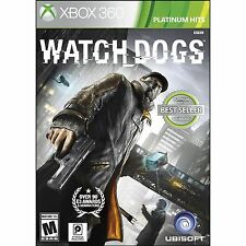 WATCH DOGS  (XBOX 360, 2014) (8043) SHIPS NEXT BUSINESS DAY***FREE SHIPPING USA