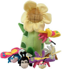 "NEW Unipak 13"" SUN  FLOWER  HOUSE ANIMALS  Plush toy"