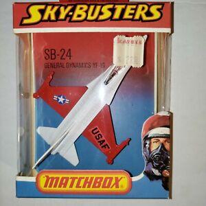 Matchbox Lesney Sky Busters SB 24 General Dynamics YF 16 F16 Plane NEW 1978