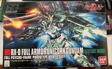 Gundam HG 1/144 RX-0 Full Armor Unicorn Gundam Destroy More Mobile Suit