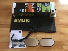 Emuk SPECCHIETTO roulotte Specchio per RIMORCHIO AUDI A4 B9 A5 F5 100712 NUOVO