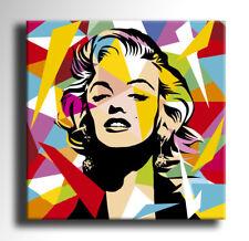 QUADRO MODERNO MARILYN MONROE POP ART DIPINTO A MANO ASTRATTO ABSTRACT STAMPA