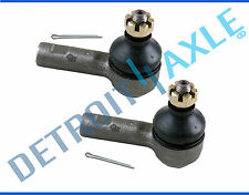 New Pair (2) Both Front Outer Tie Rod End Links for 1987-1994 Subaru Justy