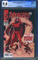 Avengers 57 (Marvel) CGC 9.8 White Pages Facsimile Edition Reprint