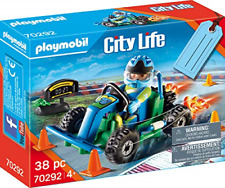 New listing Playmobil City Life 70292 Go-Kart Racer Gift Set Incl. Gift Tag On The Box, for