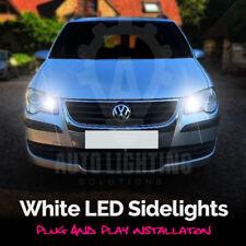 For VW Touran 2003-2010 1T1 1T2 White LED Sidelight Light Bulbs *SALE*