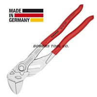 """Knipex 10"""" Pliers Wrench 8603250 Adjustable Wrench Hybrid Tool Germany"""