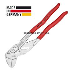 "Knipex 10"" Pliers Wrench 8603250 Adjustable Wrench Hybrid Tool Germany"