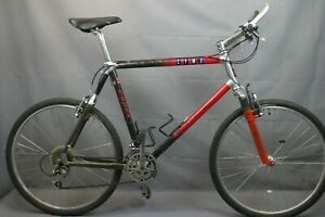 "Giant Cadex CFM2 MTB Bike X-Large 22"" 1992 Carbon Hardtail Deore XT US Charity!!"