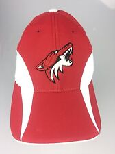 Phoenix Coyotes Reebok Cap Official Locker Room Flex Stretch Fit Fitted Hat