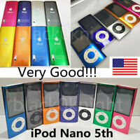 Apple iPod Nano 5th generation 16GB (Very Good!)- All Colors