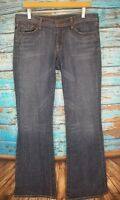Citizens of Humanity Womens Size 30 Ingrid #002 Low Waist Flair Stretch Jeans