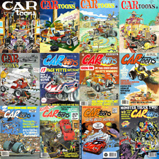 CARtoons Magazine 102 Issues in PDF For on 1 DVD